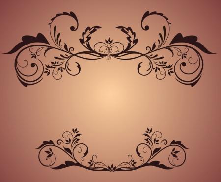 Vintage frame Stock Vector - 19034672