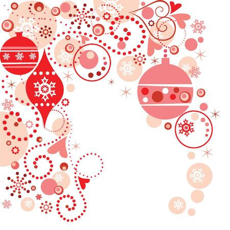 Red christmas background Stock Vector - 19035005
