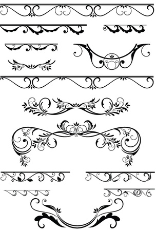 decorative element: Decorative element for design Illustration