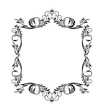 Decorative frame Stock Vector - 19034875