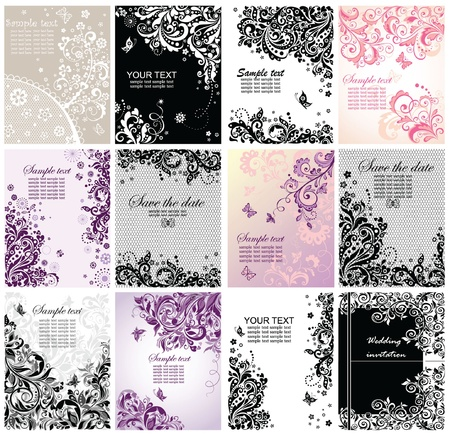 ornamented: Vintage greeting banners