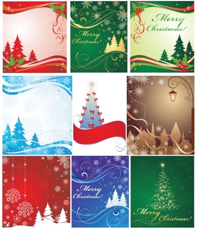 Christmas banners. Set. Stock Vector - 19094425