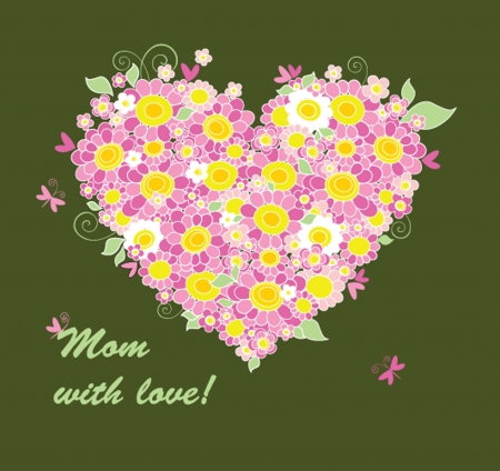 congratulation card: Mothers Day congratulation card