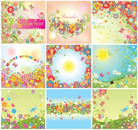 Summery cards