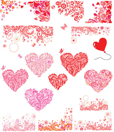 Design for Valentines Day party Vector
