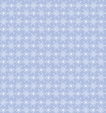 Blue wallpaper with snowflake Vector
