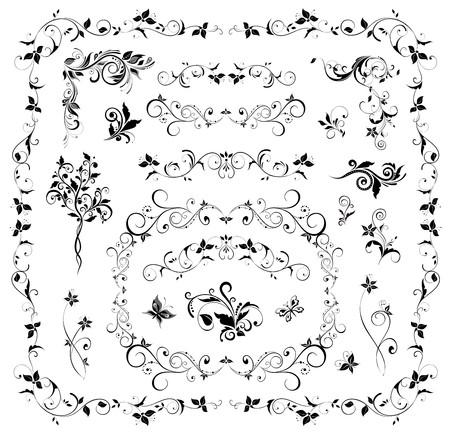 Collectie van de bruiloft design