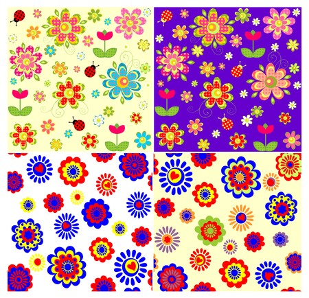 flower power: Childish wallpapers