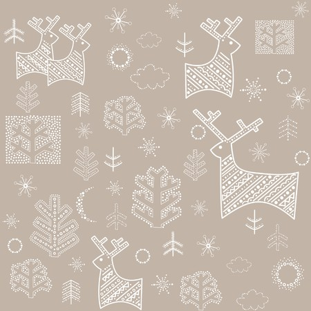 Pastel winter wallpaper Vector