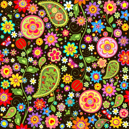 wrapper: Wrapper with paisley