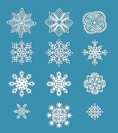 ollection: ollection of handmade paper snowflakes