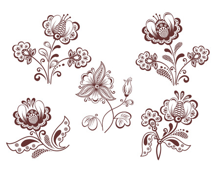 flamy: Retro flowers