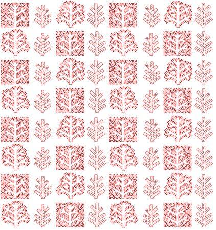 winter wallpaper: Fondo de pantalla de invierno con el �rbol abstracto rojo