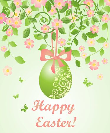 pasch: Beautiful easter card