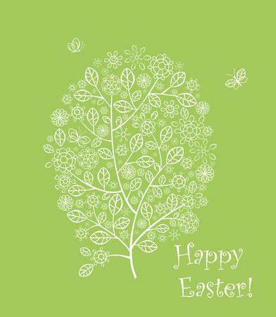 easter tree: Easter tree Illustration