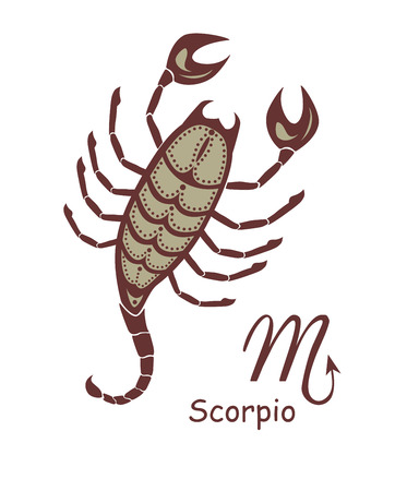 scorpio: Decorative scorpio