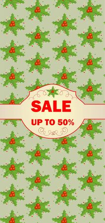 winterberry: Label for christmas sale
