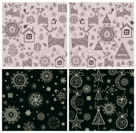 christmas snowflakes: Winter wrappers