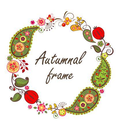 autumnal: Autumnal frame Illustration