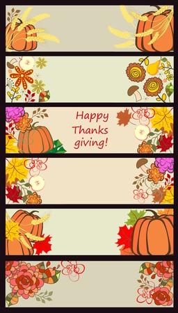 autumnal: Autumnal banners Illustration