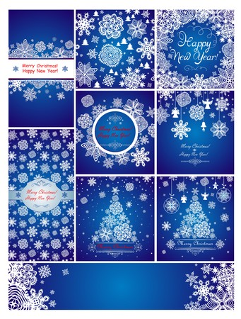 christmas blue: Blue christmas greetings