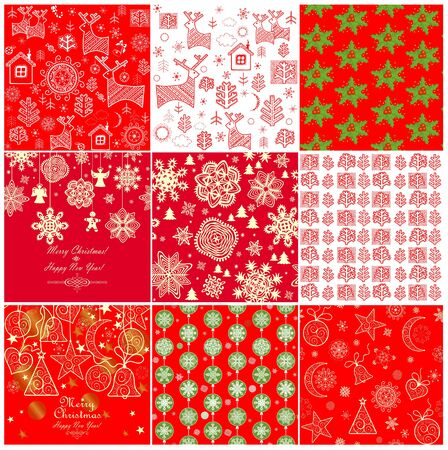 red green: Collection of red winter wallpapers
