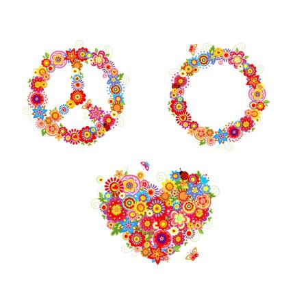 flower power: hippie flowers
