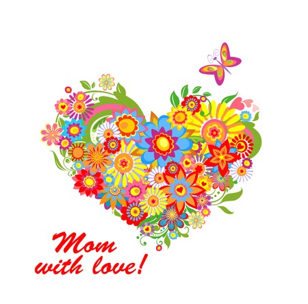 mother day: Greeting bouquet for mothers day