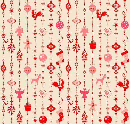 red wallpaper: Xmas wallpaper with red pattern