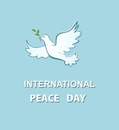 Greeting card for International Peace day