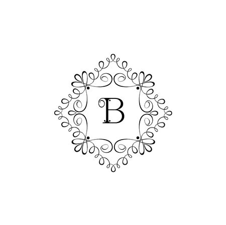 fashion jewelry: Elegant label for boutique, restaurant, cafe, hotel, jewelry and fashion