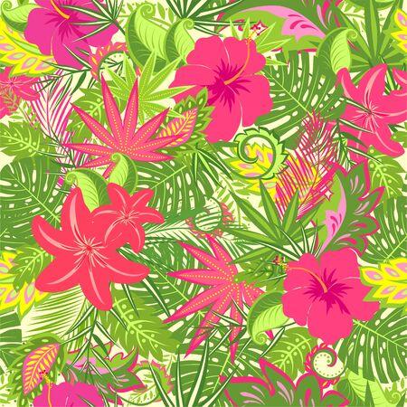Monstera, palm leaf, rainbow, card, invitation, summer party, web design