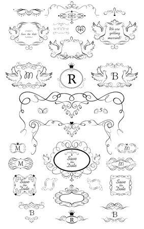 Henette, card, restaurant, cafe, hotel, jewellery store, logo, templates, monogram Çizim