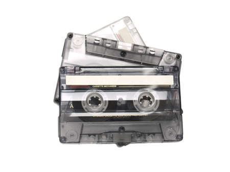 recordable: Three recordable audio tapes.