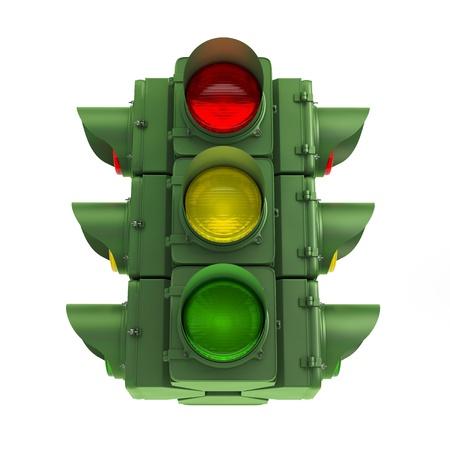 green traffic light photo