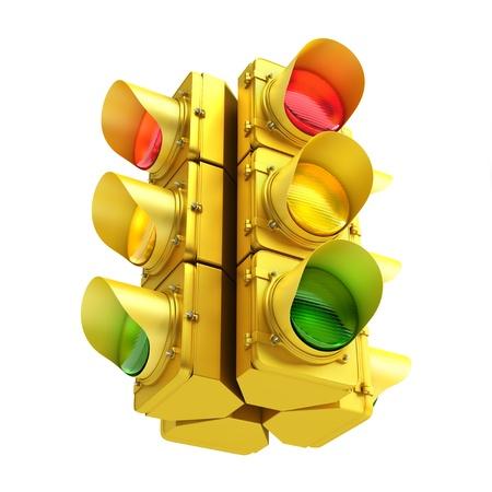 geel verkeers licht