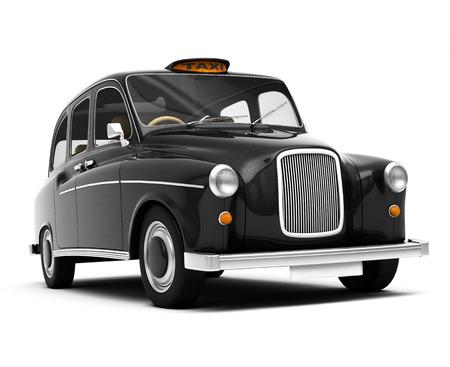 black cab: London taxi