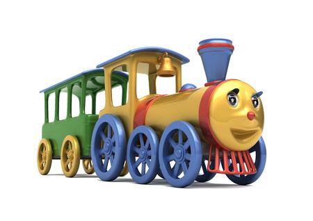 speelgoed locomotief