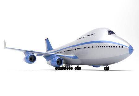 vliegtuigen linkerzijde Aanzicht Stockfoto
