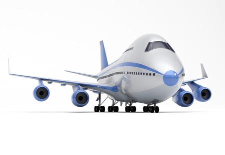vliegtuigen perspectief Stockfoto