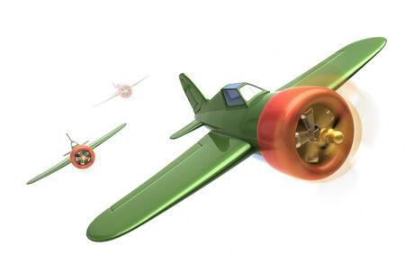 luchtvaartuig tijdens de vlucht