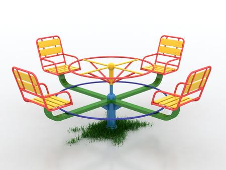 Swing voorjaar Stockfoto