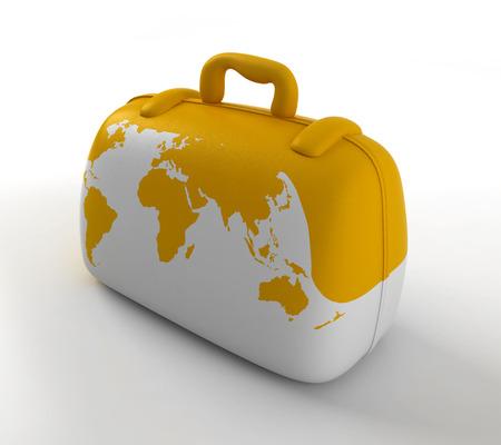 koffer voor reis