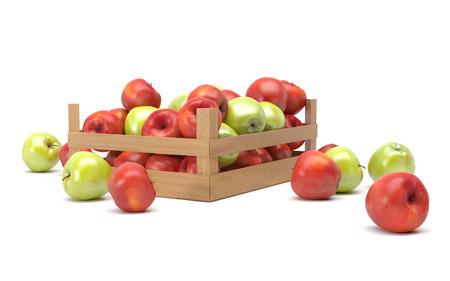 appels in een doos