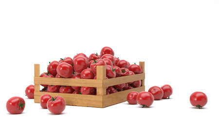 doos met tomaten