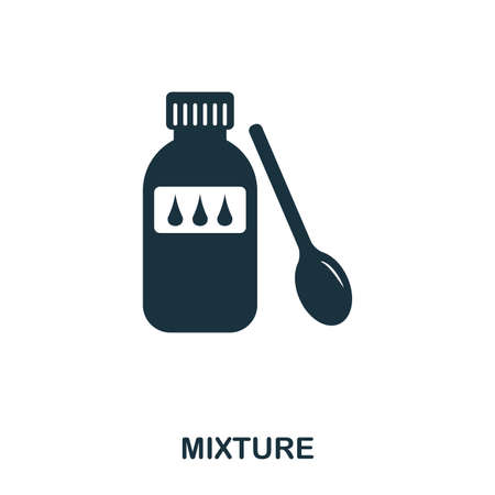 Mixture icon. Line style icon design. UI. Illustration of mixture icon. Pictogram isolated on white. Ready to use in web design, apps, software, print.