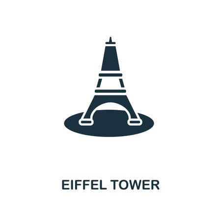 Euphile Tower creative icon. Simple element illustration. Euphile Tower concept symbol design from honeymoon collection. Perfect for web design, apps, software, print