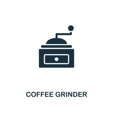 Coffee Grinder icon. Premium style design from coffe shop collection. UX and UI. Pixel perfect coffee grinder icon. For web design, apps, software, printing usage.