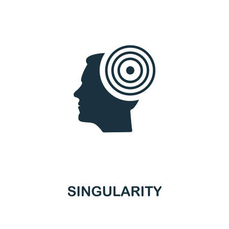 Singularity icon. Premium style design from artificial intelligence collection. UX and UI. Pixel perfect singularity icon. For web design, apps, software, printing usage.