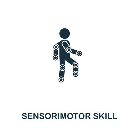Sensorimotor Skill icon. Premium style design from artificial intelligence collection. UX and UI. Pixel perfect sensorimotor skill icon. For web design, apps, software, printing usage.
